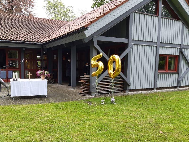 50 Jahre Friedenskirche, Gottesdienst an Himmelfahrt
