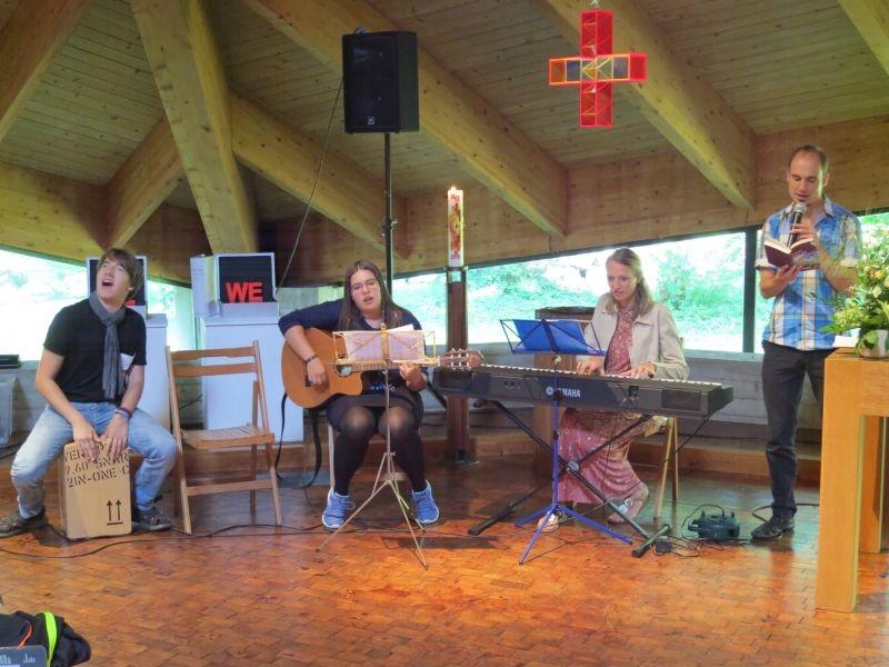 Abschied von Diakonin Protze - Musik der Jugend im Gottesdienst