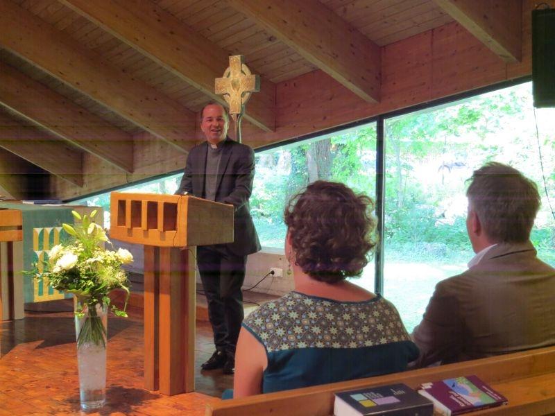 Abschiedsworte von Pfarrer Zurl von St. Stefan in Gräfelfing