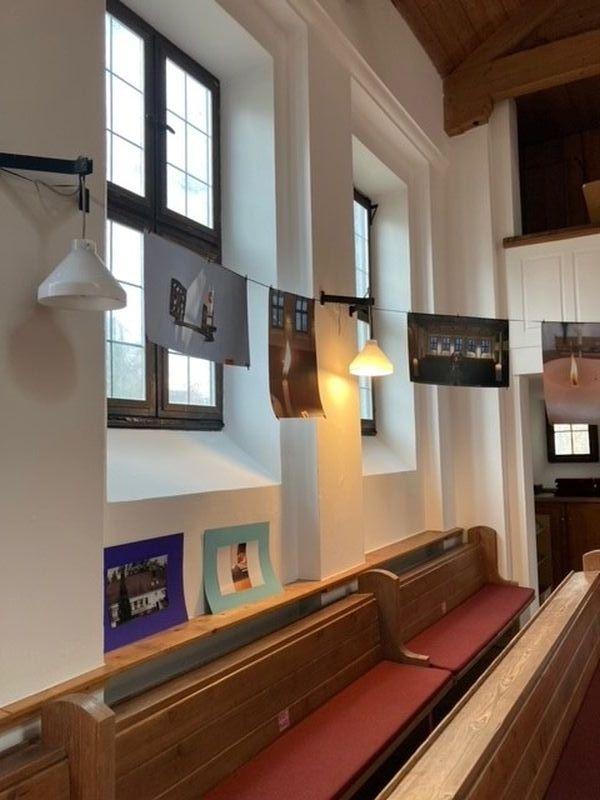 Ausstellung der Fotos in der Michaelskirche