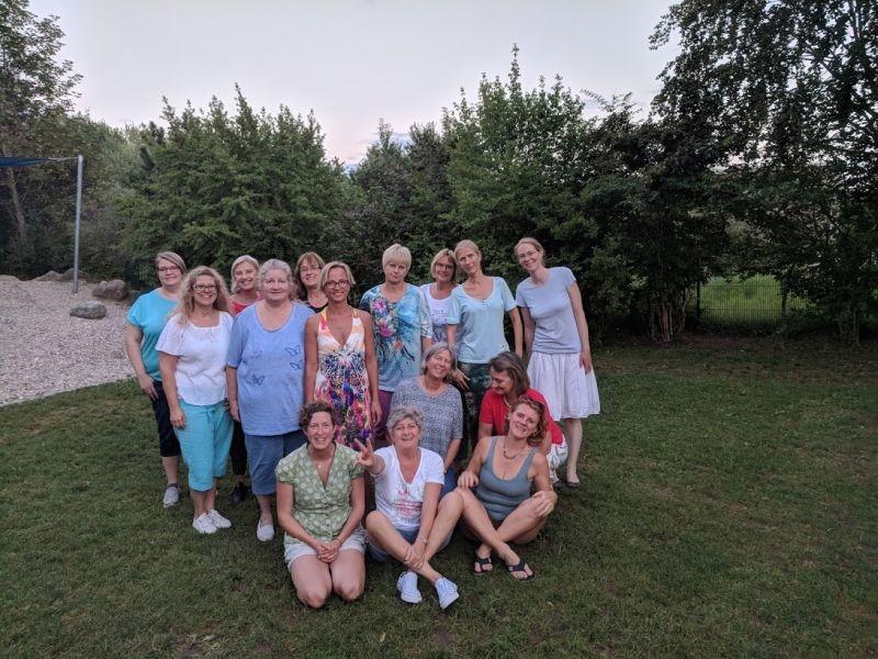 Juli: Der Frauenstammtisch im DBH