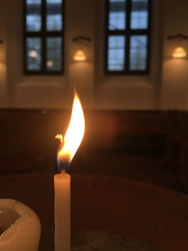 Fotowettbewerb: Kerze im Innern