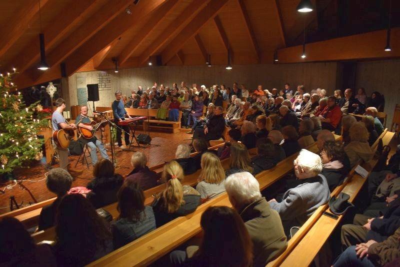 Januar: Irische Musik beim Empfang für die ehrenamtlich Mitarbeitenden