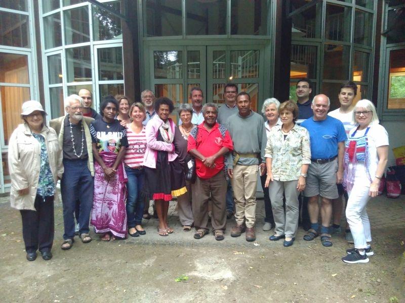 Juli: Besuch aus Papua Neuguinea im Dekanat